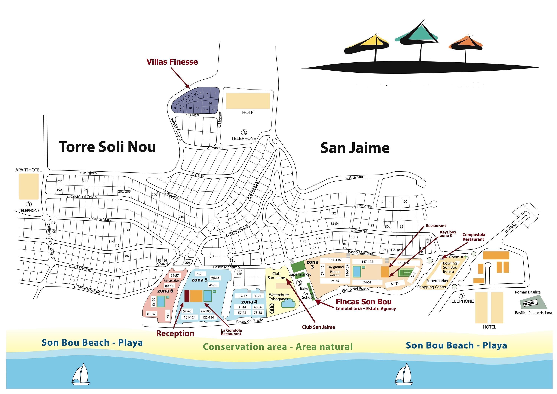 Which Apartments Zone Son Bou Message Board Tripadvisor
